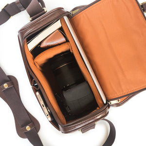 Removable compartments - stylish camera bags and satchels