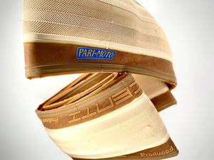 Pacenti Paris-Moto 650B 38mm Wide Cream Tread with Gum Side Wall