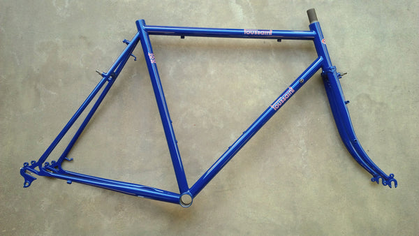 Velo Routier Version 2 650B Low Trail Frame (with braze-ons)