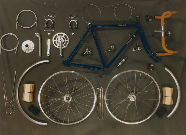 DIY Velo Routier 2.0 Frame/Fork and Complete Build Kit