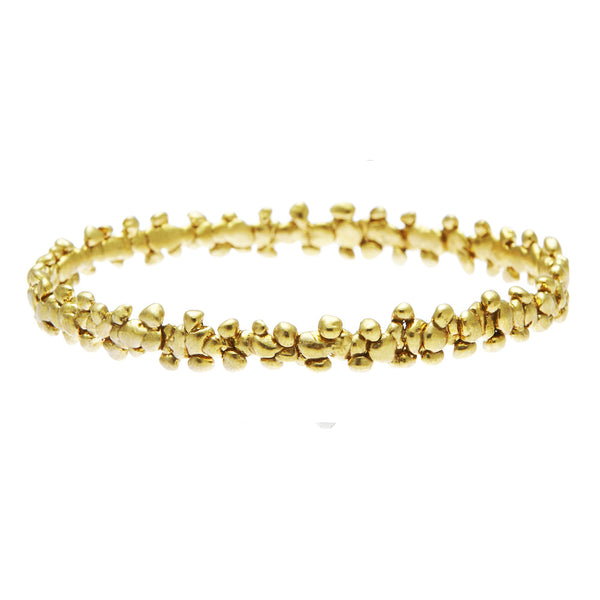Fine Confetti Bangle Gold (1 piece)