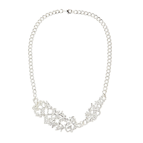 Confetti Necklace Silver