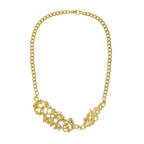 Confetti Necklace Gold