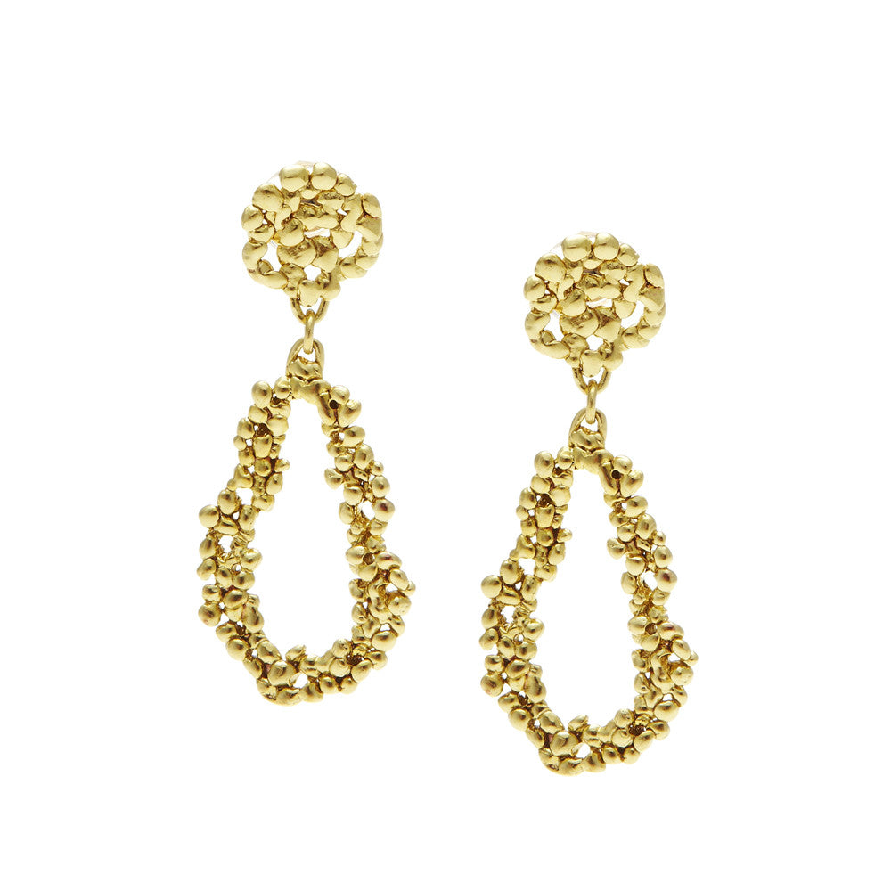Confetti Earrings Gold