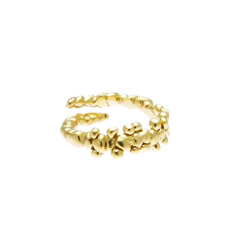 Fine Confetti Ring Gold