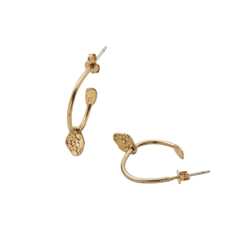Charm Earring Gold
