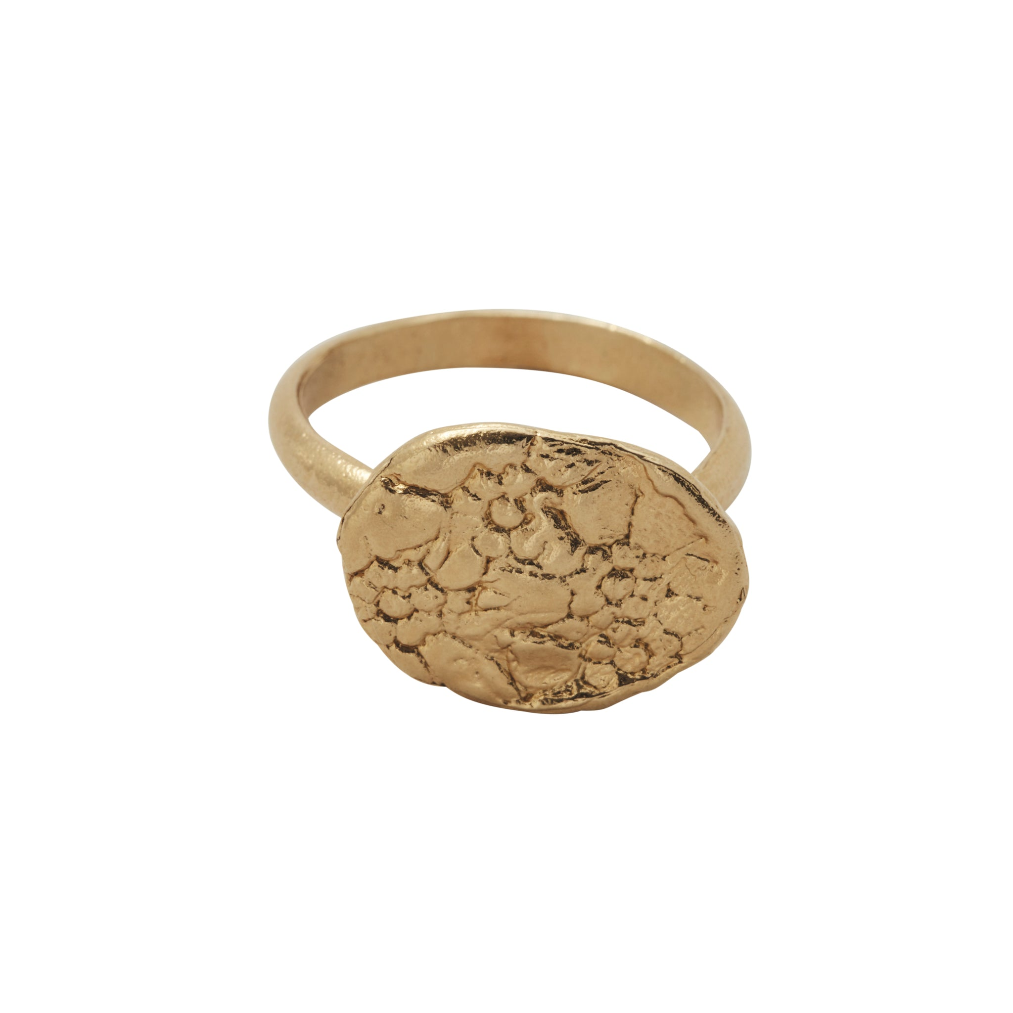 Floral Ring Gold