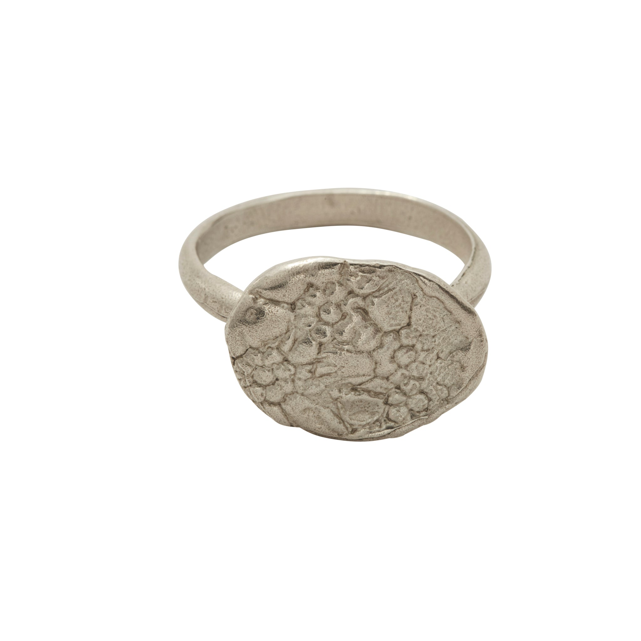 Floral Ring Silver