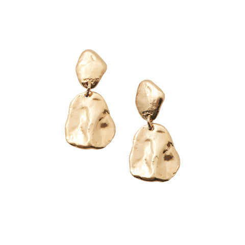 Nougat Earrings Gold