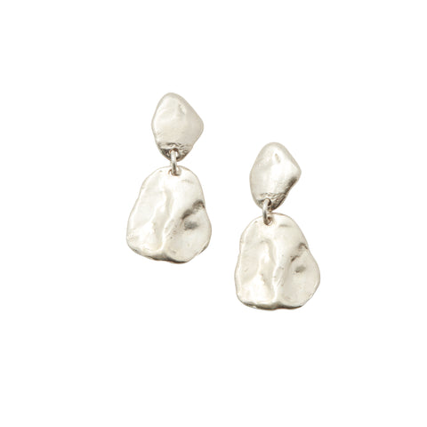 Nougat Earrings Silver
