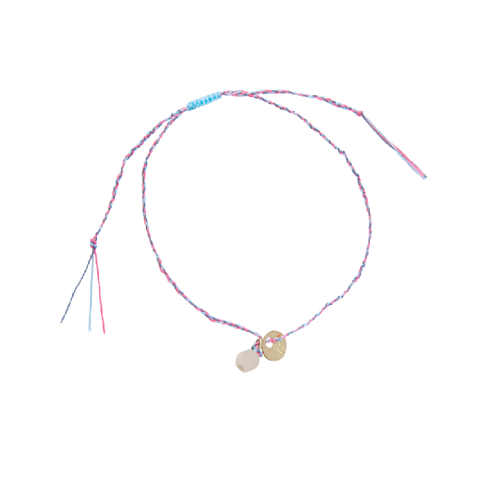 Love + Luck Bracelet (Rose Quartz)