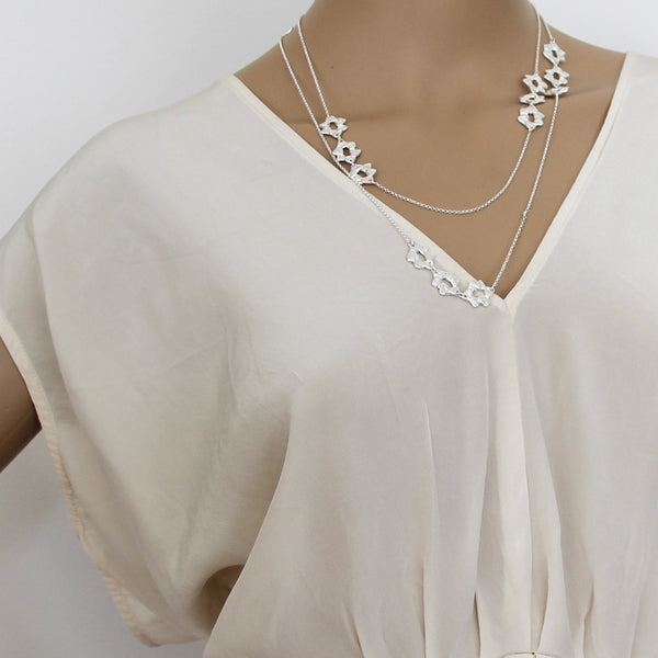 Long Hani Necklace Silver