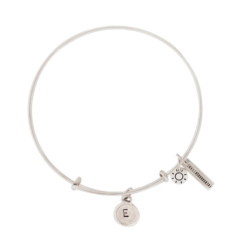 Alphabet Bangle Silver (SOLD OUT)