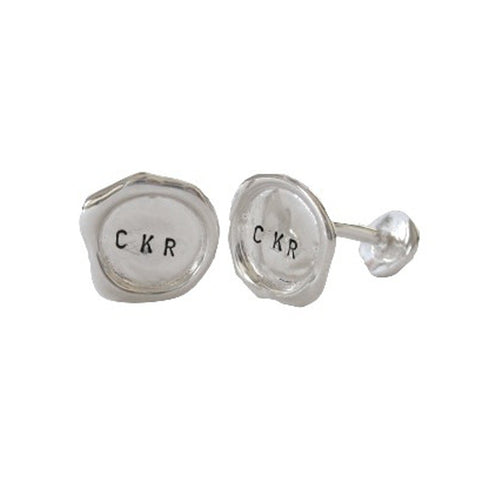Personalised Cuff Links - Silver