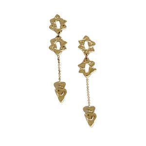 Hani Earrings Gold