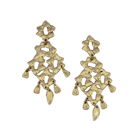 Puka Earrings Gold