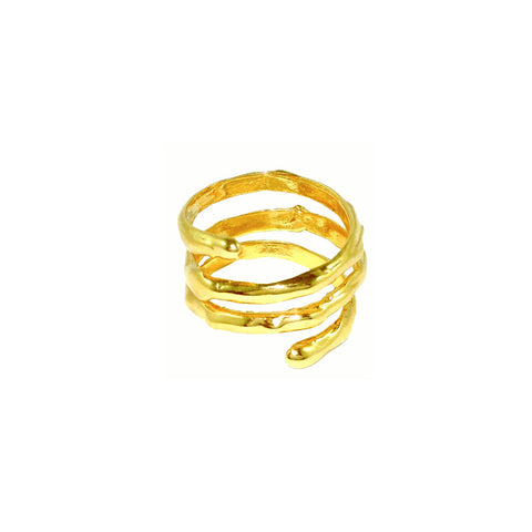Ivy Ring Gold