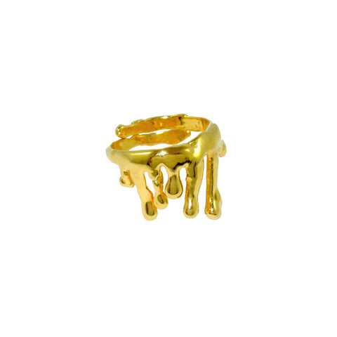 Poppy Ring  Gold