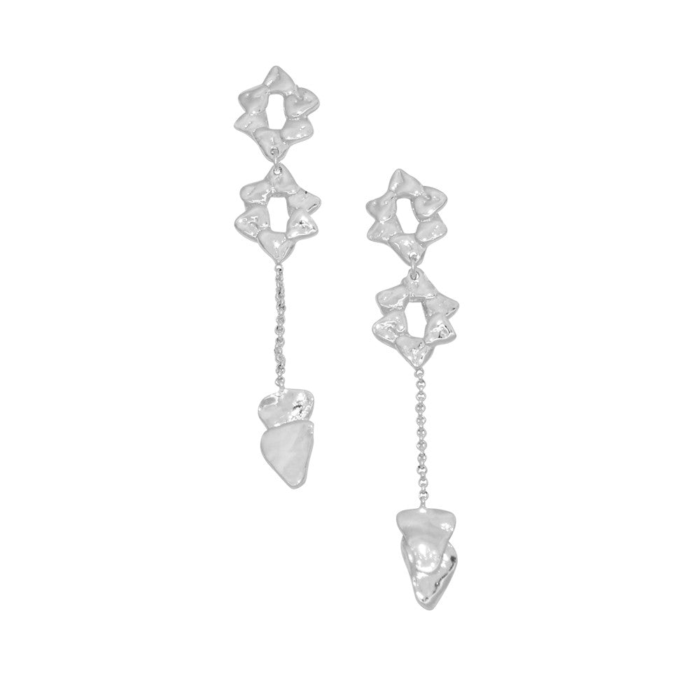 Hani Earrings Silver