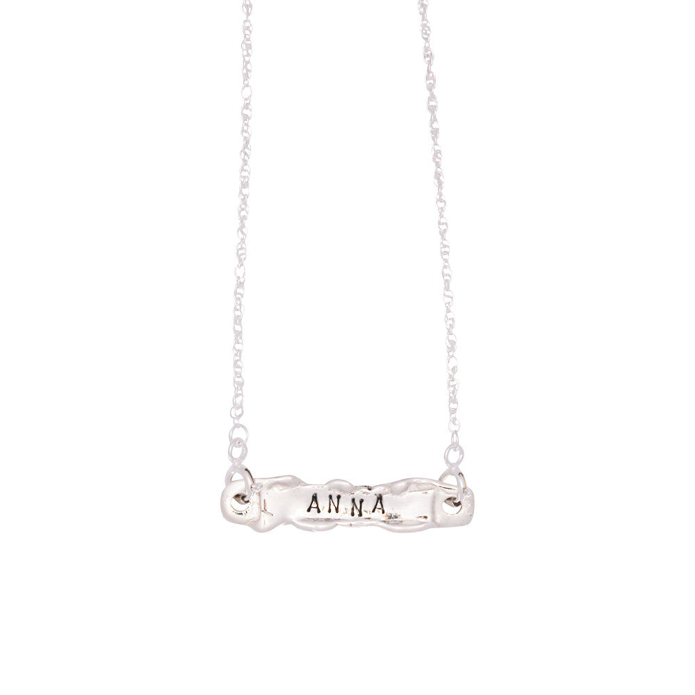 Personalised Necklace - Silver