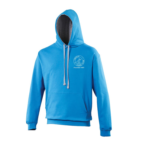 Lincoln Canoe Club Hoodie - Blue and Grey