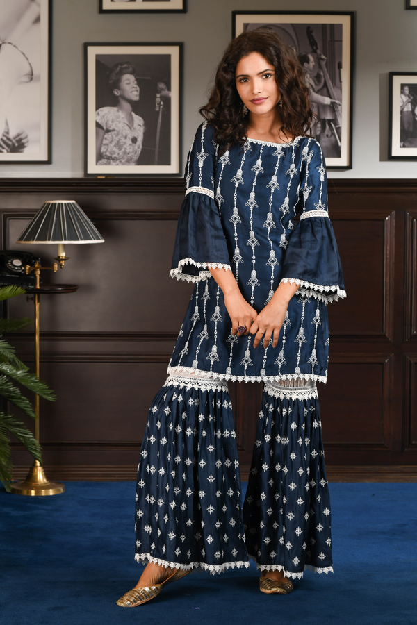 Japanese Silk CAIA KURTA With CAIA PANT