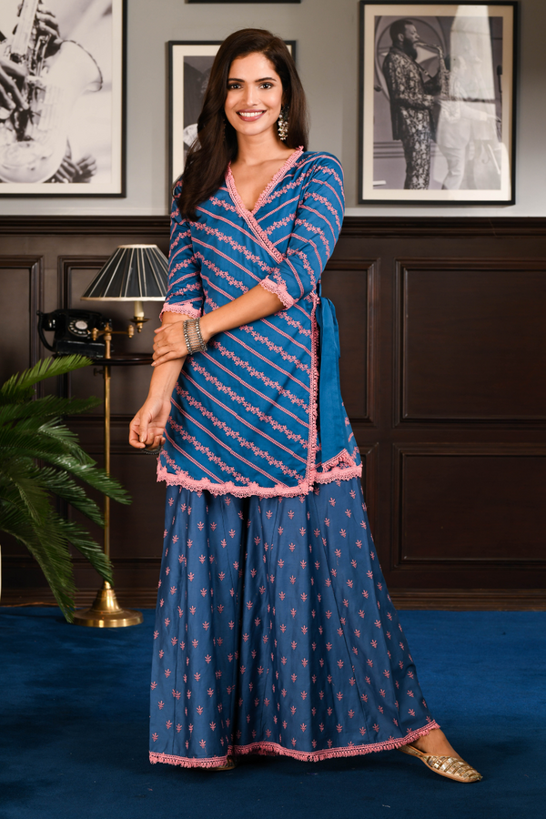PIMA SATIN GEILA KURTA With GEILA PANT