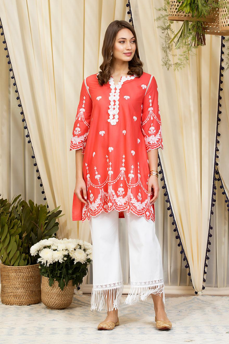 Mulmul Cotton Julia Kurta
