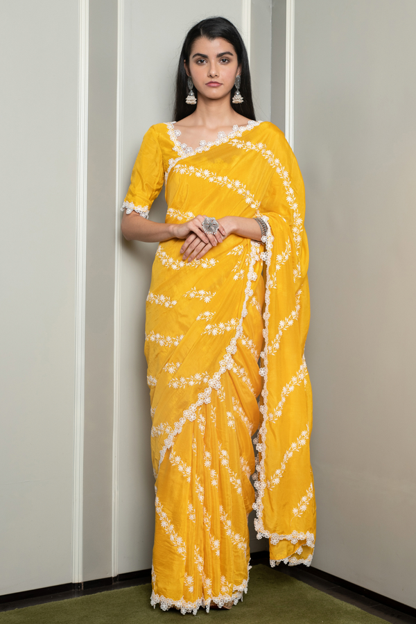 Japanese Silk Keya Saree