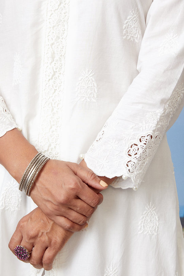 Mulmul Cotton ORACLE KURTA With ORACLE PALAZZO