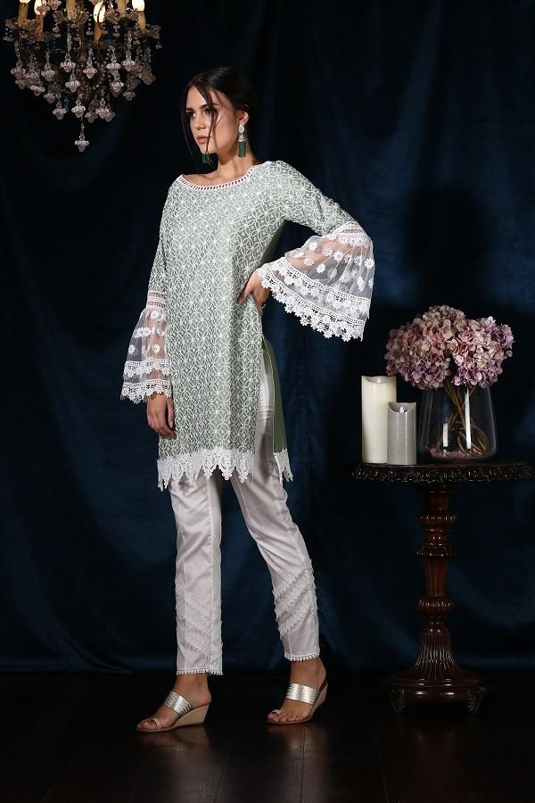 Bellflower Kurta (Green)