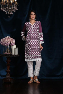 Buttercup Kurta (Purple)