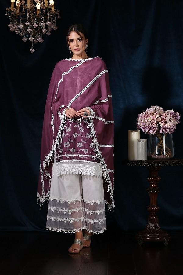 Iris Kurta (Purple)