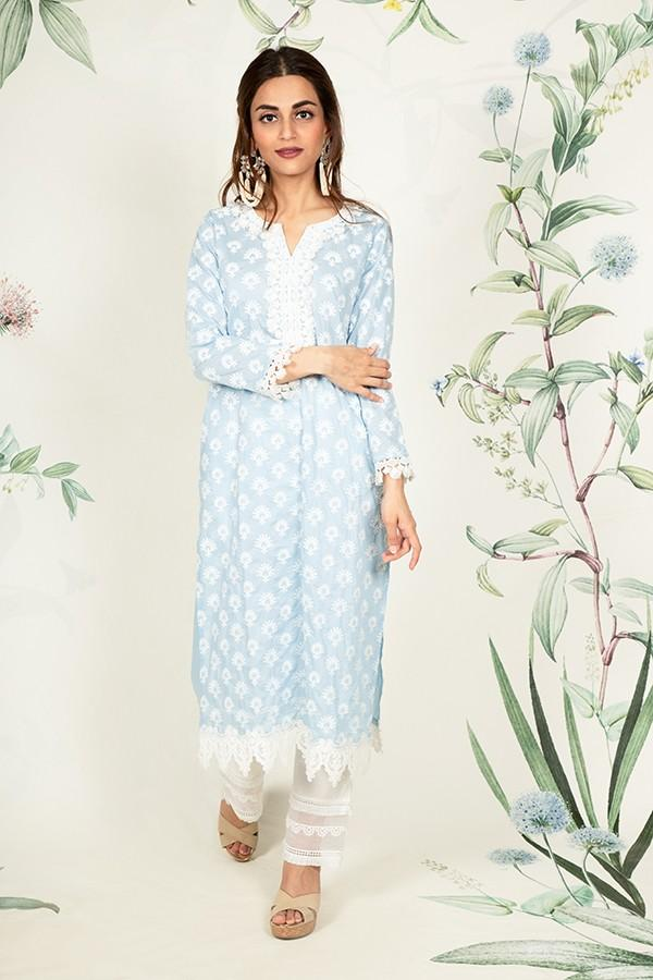 Holly Kurta (LIGHT BLUE)