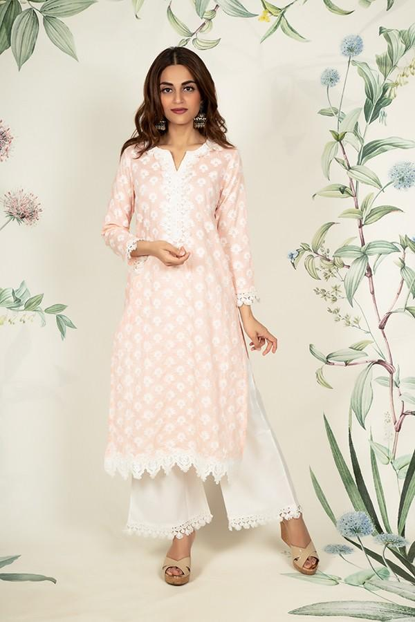Holly Kurta (PEACH)