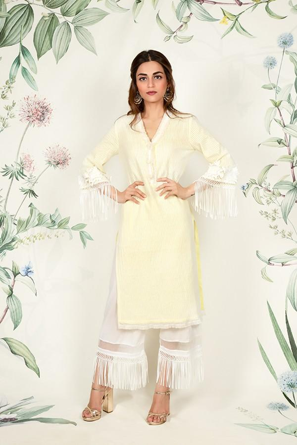 Poppy Kurta (YELLOW)
