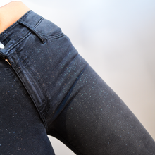 Load image into Gallery viewer, Black Orchid Glitter Jeans