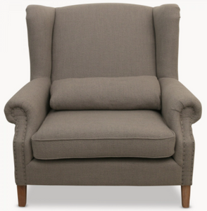 St James Grey Armchair
