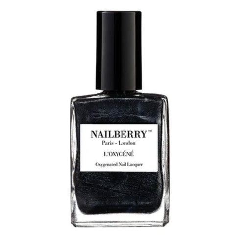 Nailberry '50 Shades' Grey/Black Nail Varnish