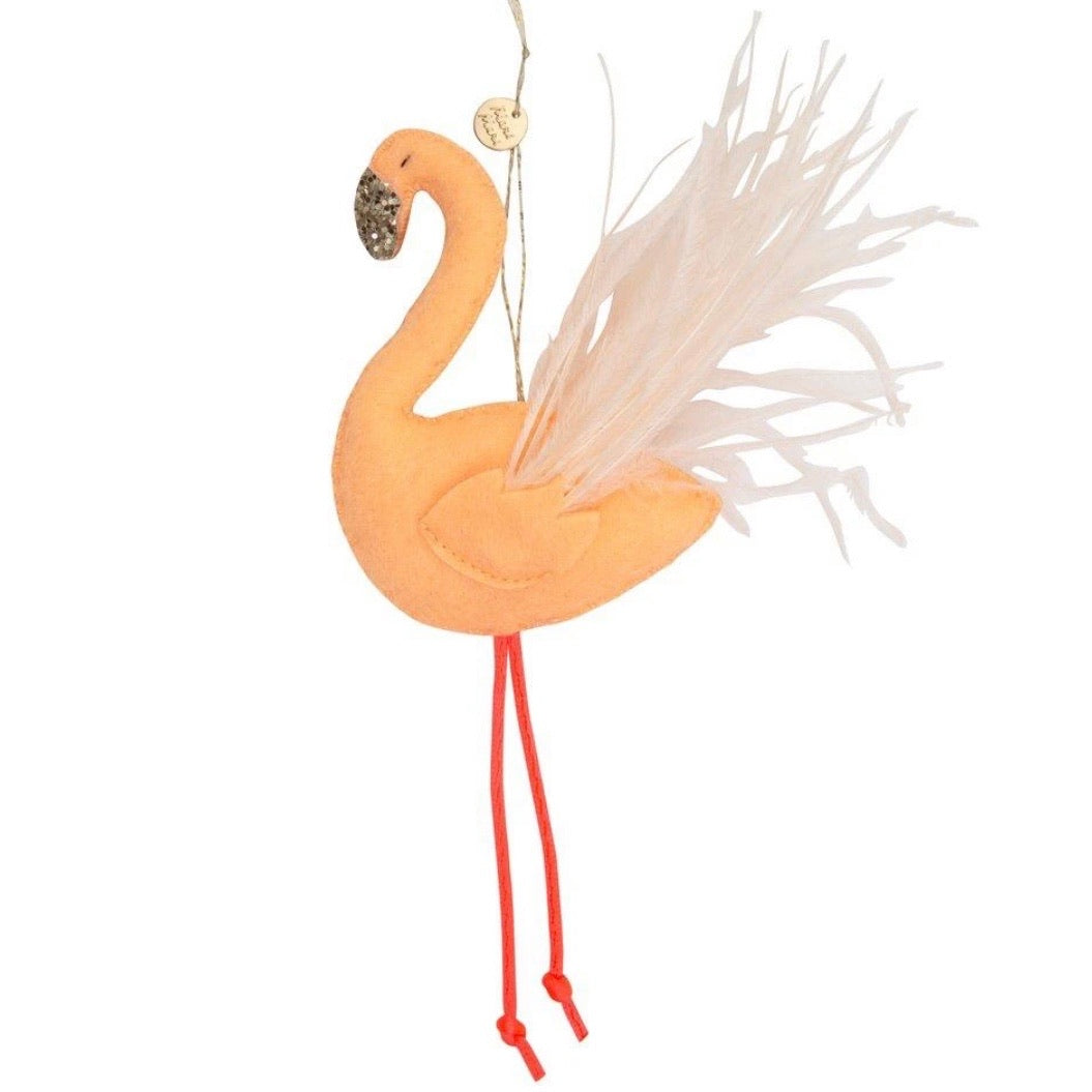 Meri Meri Flamingo Tree Decoration