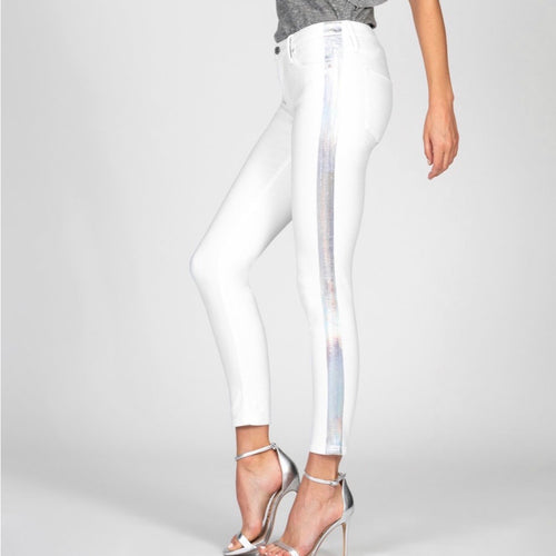 Black Orchid Jude Jeans Holographic Stripe