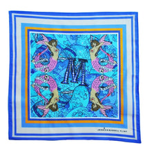 "Load image into Gallery viewer, Jessica Russell Flint ""M for Mermaids"" Handkerchief"
