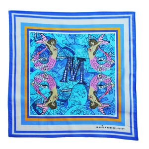 "Jessica Russell Flint ""M for Mermaids"" Handkerchief"