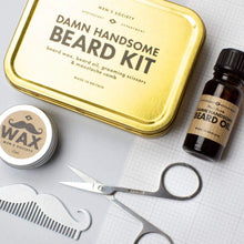Load image into Gallery viewer, Men's Society Damn Handsome Beard Kit