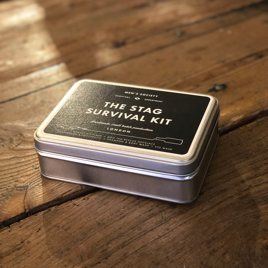 Men's Society Stag Survival Kit