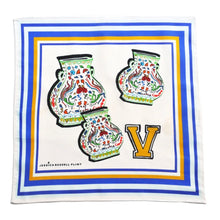 "Load image into Gallery viewer, Jessica Russell Flint ""V for Vases"" Handkerchief"