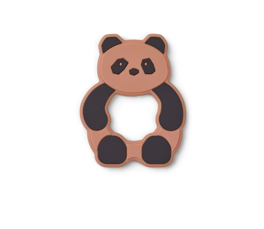 Liewood Gerda Teether - Panda tuscany rose