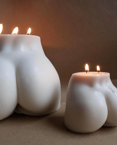 Mini Bum Candle Porcelain