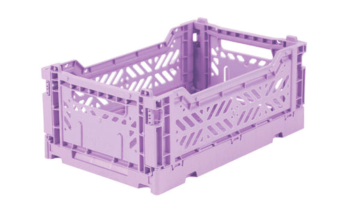 Orchid Folding Crate Small