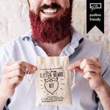 Load image into Gallery viewer, Men's Society Glitter Beard Kit